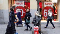 Los madrileños han gastado este año un 7 por ciento más en las rebajas de invierno con respecto a 2017, con un gasto declarado que asciende a 404 euros frente a los 379 euros del año anterior, según El Observatorio Cetelem .