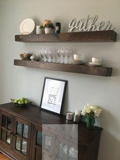 Dumbfounding Useful Ideas Floating Shelf Desk Fireplaces Shelves Shanty 2 Chic Tutorials Dining Room