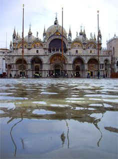 High tides have been invading Venice since the 6th century. Since the 1960s the Italian government poured billions into developing MOSE a complex system of floodgates.