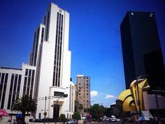 #MexicoDf #Reforma #caballito #sky #blue
