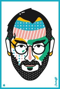 Saved by Michael Arnold (mkrnld). Discover more of the best Illustration, Michael, Arnold, -, and Design inspiration on Designspiration Illustration Sketches, Digital Illustration, Graphic Illustration, Illustrations Posters, Business Illustrations, Best Portraits, Creative Portraits, Craig And Karl, Stencil