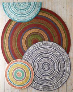 Fair Isle Hooked Wool Rug - Garnet Hill