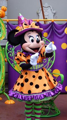 Minnie @ Minnie's costume couture in Main Street at Disneyland Paris #DLRP #DLP #Disney