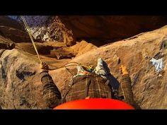 World's Most Insane Rope Swing Ever!!! - Canyon Cliff Jump