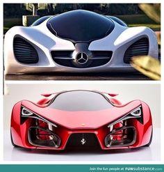 Mercedes or Ferrari?