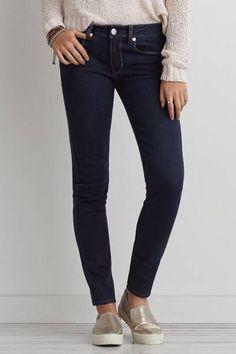 Skinny Jean  dark wash size 8 Short