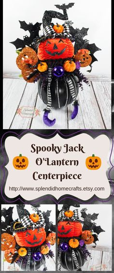 Your place to buy and sell all things handmade Spooky Halloween Decorations, Halloween Crafts, Halloween Wreaths, Halloween Table, Halloween Birthday, Halloween House, Fall Wreaths, Fall Crafts, Halloween Ideas