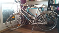 HLE early '90s Peugeot Mixte, light and confy.Girls say so