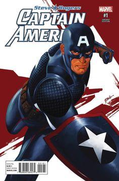 CAPTAIN AMERICA: STEVE ROGERS #1 Variant Cover by STEVE EPITING