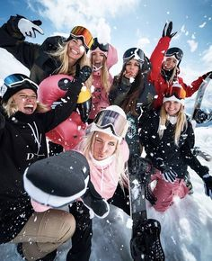 Best Friend Pictures, Bff Pictures, Snowboarding Photography, Winter Fun, Winter Camping, Winter Snow, Winter Time, Ski Girl, Fotos Goals