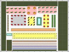 Garden Plan - 2014: Iza & Max