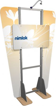 "Velocity Kiosk 04  lifetime hardware warranty against manufacturer defects choice of printed graphic wings or frosted plex wings bases and angled support feet are each available in 4 different finishes kit includes 1 WMC-12x6 case, rigid custom printed center panels, double-sided wing accents, and one 50 watt spotlight Weight: 90 lbs Size: 52""w x 30""h x 15""d Lead Time: 5 days"