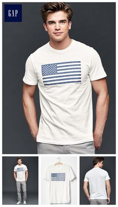 Americana graphic crew t-shirt