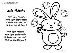 Petit lapin Pistache, comptine pour Pâques | Petit lapin Pistache!! la petite comptine adorable pour Pâques.