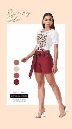 Belted Shorts, Mini Skirts, Ootd, Street Style, Fashion, Fall Winter Fashion, Fashion Trends, Women's Work Fashion, Blouses