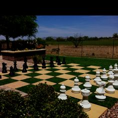 Totally gonna do a star checkers board in back yard for the fourth of july