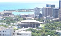"""Hawaii State Capitol"". * Honolulu, Havai. USA *"