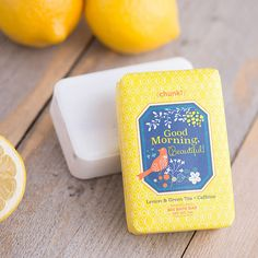 Perfectly Posh - Good Morning Beautiful: Wake up your skin and enliven your mood every morning. The energizing blend of caffeine, sunflower oil, green tea, and lemon essential oils put the power of sunshine and songbirds into each bar. melbrownperfectly.po.sh