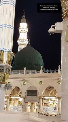 Prophet Muhammad Masjid in Madina Mecca Madinah, Mecca Kaaba, Al Masjid An Nabawi, Masjid Al Haram, Islamic Images, Islamic Pictures, Islamic Quotes, Medina Mosque, Mecca Wallpaper