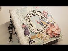 (1) French Flea Market Mini Album - YouTube