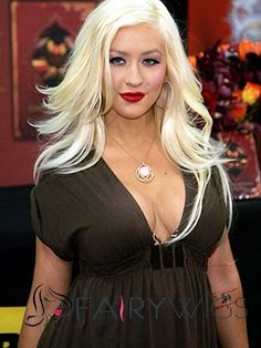 Dynamic Feeling from Long Wavy / Curly Gray Top Quality High Heated Fiber Lace Front Party Wigs