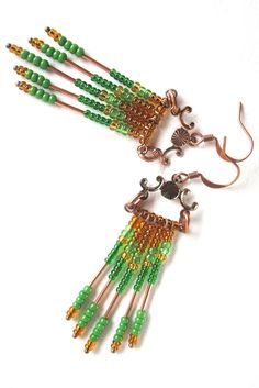 Beauty of the M (i) e ': jewelery - MAKE IT YOURSELF! Material: finials and wire dividers