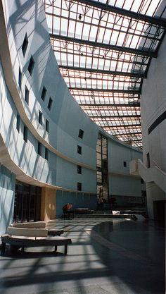 Cité de la Musique, building designed by the architect Christian de Portzamparc, 221 Avenue Jean Jaurès, Paris XIX