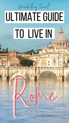 Wondering how you can afford to Live In Rome? Find out what to expect, budget to plan for, food, accommodations, and getting around the city. Italy Travel Tips, Europe Travel Guide, Travel Destinations, Budget Travel, Travel Guides, Italy Honeymoon, Italy Vacation, Day Trips From Rome, Best Of Italy