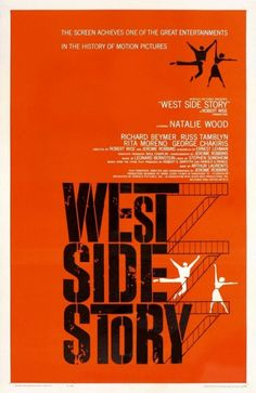 West Side Story - Saul Bass - 1961 - one of my favorite designs