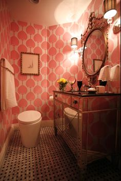 The Pink Pagoda: Pink With Woodson And Rummerfield's House of Design