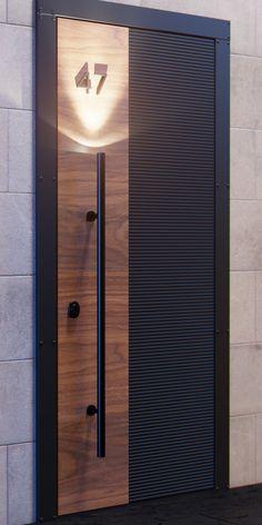 Main Entrance Door Design, Front Gate Design, Door Gate Design, Wooden Door Design, Door Design Interior, Railing Design, Home Design Decor, Design Ideas, Home Decor