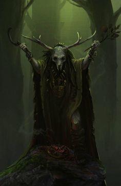fantasyartwatch:  Druid by Roy Steur