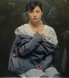 It is not a photo...it is a painting by Leng Jun