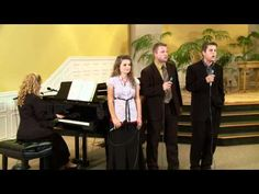 The Bates Family sings Trade this Cross. Erin, Alyssa, Zach, and Lawson.