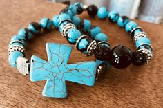 Beaded Jewelry, Handmade Jewelry, Beaded Bracelets, Unique Necklaces, Jewelry Necklaces, Turquoise Bracelet, Bling, Creative, Earrings
