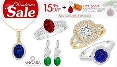 Angara Jewelery for Christmas Sale