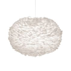 Made up of hundreds of individual goose feathers, the sculptural style of the EOS pendant is perfect for making an interior statement. Designed in Denmark by Vita co-founder Soren Ravn Christensen, this unique shade provides an elegant contrast between sleek Scandinavian form and the delicate textures of natural materials.