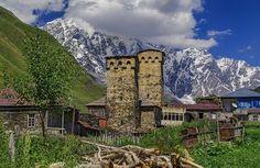 Svaneti, the mountainous paradise of Georgia. The main places he visited were Adishi and Ushguli