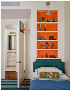 VT Interiors - Library of Inspirational Images: Brave Colour Choices