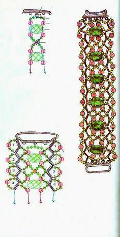 BeadedPatterns: Bracelet beaded Patterns