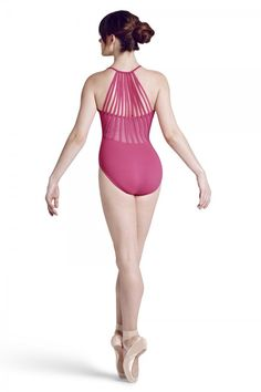 MJ7183 Sunray Back Cami Leotard