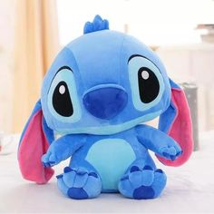 48 CM Kawaii Stitch Long ears Plush toys Disney cute Dolls Soft Pillows for baby kids Dear person gift-in Stuffed & Plush Animals from Toys & Hobbies Lilo Und Stitch, Lilo And Stitch Quotes, Citations Lilo Et Stitch, Plush Dolls, Doll Toys, Peluche Stitch, Stitch Stuffed Animal, Stitch Disney, Cute Stitch