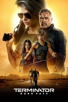 Terminator: Dark Fate - Directed by Tim Miller. With Mackenzie Davis, Edward Furlong, Linda Hamilton, Arnold Schwarzenegger. Sarah Connor and a hybrid cyborg human must protect a young girl from a newly modified liquid Terminator from the future. Movies 2019, Hd Movies, Movies Online, Movie Tv, Movie Plot, Movies Free, Movie Songs, Edward Furlong, Arnold Schwarzenegger