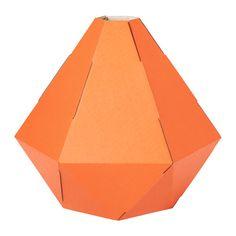 IKEA - JOXTORP, Pantalla para lámpara de techo, Crea tu propia lámpara de techo o de pie combinando una pantalla con un juego de cables.Crea una iluminación directa muy conveniente para mesas de comedor y de centro, por ejemplo.