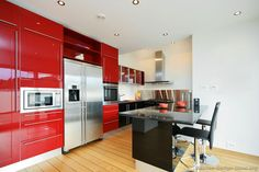 Impressive Red Kitchen Ideas Design Ideas