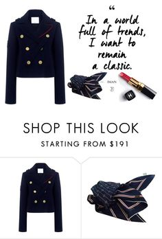 """""""Classic"""" by cierraeager ❤ liked on Polyvore featuring TIBI, Gucci and Chanel"""