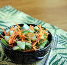 Asian Style Cucumber Salad on MyRecipeMagic.com