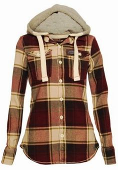 Comfy and cozy lumberjack shirt. More like something I would steal from my girl rather than own myself