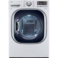 LG DLHX4072W Front-Loading Electric Dryer - 7.3 cu ft - Smooth White