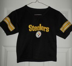 Youth Boys Black & Yellow PITTSBURGH STEELERS NFL #7 Jersey, Size S 4/5, GUC! #NFLTEAMAPPAREL #PittsburghSteelers